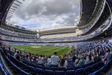 Football First leg of Champions League semifinals between Real Madrid and Atletico