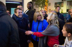 Le Touquet: Emmanuel Macron and wife Brigitte