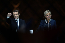 Emmanuel Macron was elected French president