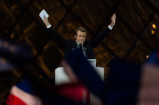 Paris: Emmanuel Macron delivers a speech at The Louvre
