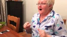Grandma's Reaction To Pregnancy