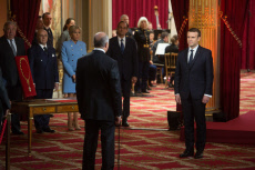 Emmanuel Macron's Presidential inauguration