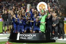 AFC Ajax vs Manchester United, UEFA Europa League Final, Football, Friends Arena, Stockholm, Sweden - 24 May 2017