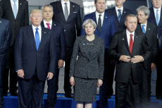 Family Picture during the NATO  Summit - Brussels
