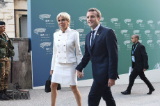 G7 SUMMIT - Arrivals at the Greek Theater - Taormina