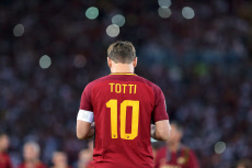 Totti AS Roma dernier match