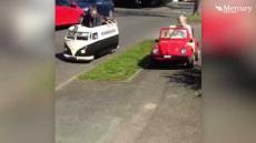 Kid Gets Mini Campervan