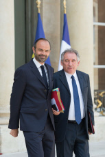 Paris. French government Weekly cabinet.