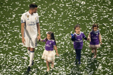 UEFA Champions Team parade, Santiago Bernabeu Stadium, Madrid, Spain - 04 Jun 2017
