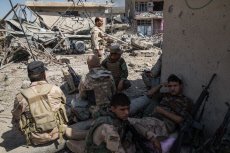 Iraq Western side of Mosul battle
