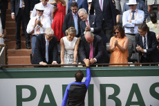 Spain's Rafael Nadal won his tenth French Open title