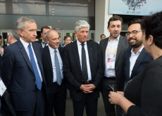 Paris: Macron visiting Viva Technology