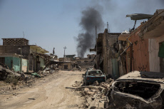 Iraq West Mosul battle