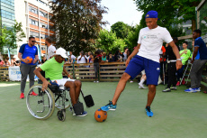Paris Kylian Mbappe charity event