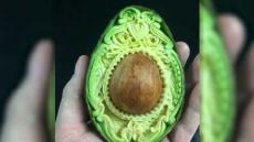 Hand Carved Fruit And Veg Artist