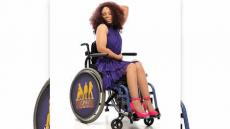 Mum Becomes Wheelchair Model