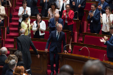 Paris:  Francois de Rugy the new president of the French National Assembly