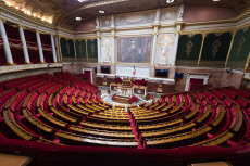 Paris: inaugural session of the 15th legislature of the French Fifth Republic at the National Assembly