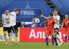 Soccer Confed Cup Chile Germany