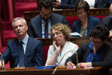 Paris: Edouard Philippe during his general policy speech at the National Assembly