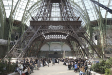PARIS Haute Couture fashion show in Chanel