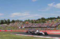 F1 Hungarian Grand Prix - Race Day