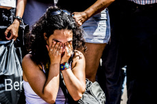Terror attacks in Spain, the day after at Las Ramblas, Barcelona, Spain - 18 Aug 2017