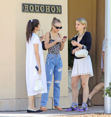 EXCLUSIVE Lily-Rose Depp Dressing Sexier In Beverly Hills After Posing Topless For CR Magazine, Part 2