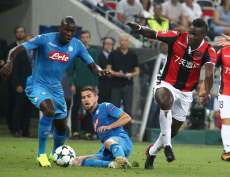 (SP)FRANCE-NICE-CHAMPIONS LEAGUE-PLAYOFF ROUND-NICE VS NAPOLI