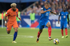 Saint-Denis: World Cup Qualifying Match France vs Netherlands