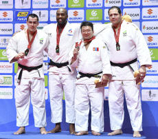 CORRECTION World Judo Championships /Men +100kg