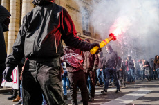 Dijon: Protests against labor code reform