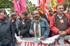 Paris: Manifestation reform labor law