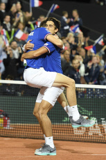 Coupe Davis:la France remporte le double