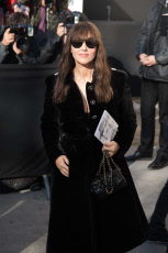 Chanel show Paris Fashion Week celebs arrivals