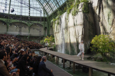 Paris: Chanel Show Runway at Paris Fashion Week Womenswear SS 2018