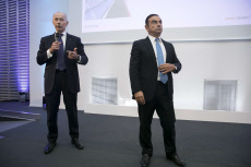 PARIS: Carlos Ghosn CEO of Renault Group presents new strategic plan for the company