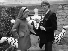 Catherine Deneuve et Yves Saint Laurent