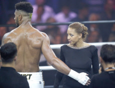 Estelle Mossely and Tony Yoka