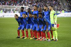 Football World cup qualification Russia 2018. France against Belarus