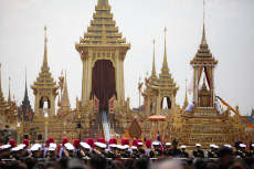 The Royal Funeral in Thailand