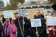 Paris. Me too demonstration.
