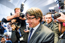 Carles Puigdemont in Brussels