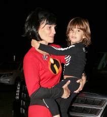 Molly Sims looking incredible for Halloween in Malibu