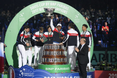 Tennis - Davis Cup Final - France vs Belgium