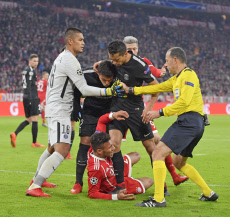Foot CL Bayern vs PSG