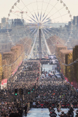 Hommage Johnny : le cortège