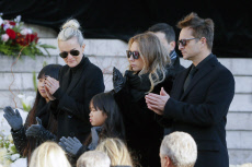 Johnny Hallyday's National Funeral Ceremony and Tribute in Paris, France