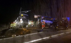 France School bus crash