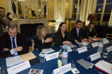 Paris: Nyssen meets the leaders of public broadcasting companies
